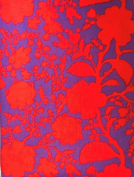 BrightHB Brown Bag Mystery Border - Red and Purple Tula
