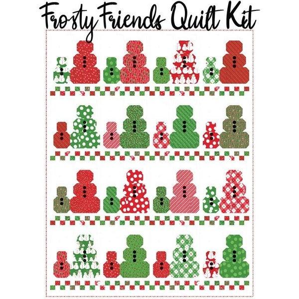 "Frosty Friends Quilt Kit  62"" x 80"" (Inc. fabric, binding & pattern)"