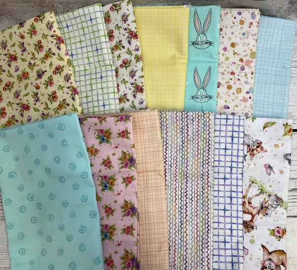 Fat Quarter Bundle (6) Kids Mystery Bundle