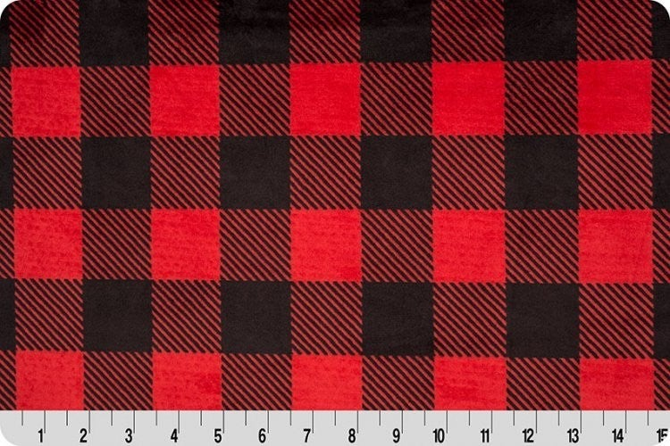Two-Yard Cut Cuddle Buffalo Plaid Cuddle
