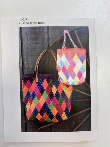 Pattern Little Jewel Totes *Final Sale*