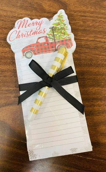 Moda Die-Cut Notepad with Truck