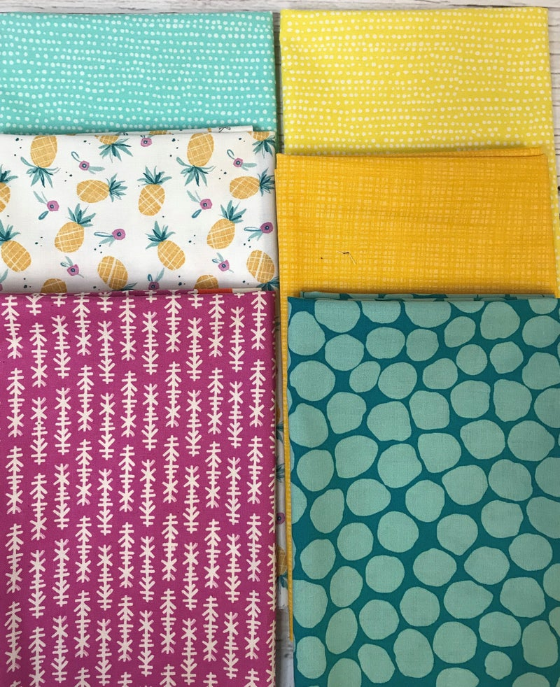 Fat Quarter Bundle (6) Pineapple Fun
