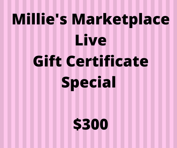 $300 Gift Certificate MML