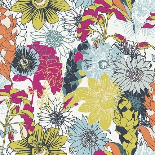 Art Gallery Pollinate Yardage - One Yard Cut Abundant Meadow