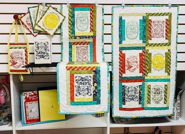 Kit:  Sew Along Songbook 5 Projects - 5 Patterns