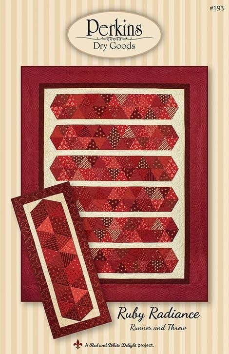 Pattern:  Ruby Radiance