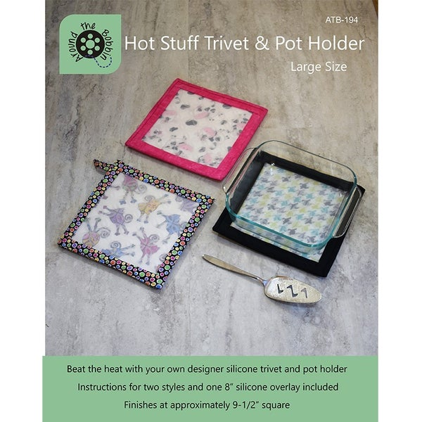 Hot Stuff Trivet Large Includes Ptrn & Silicone for (1) *Final Sale*