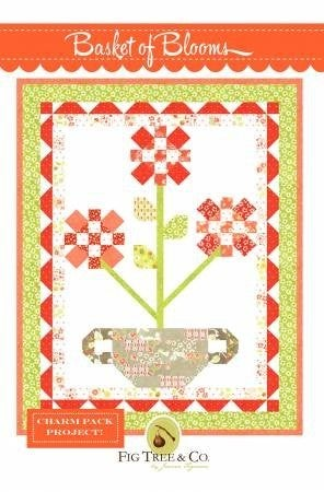Pattern:  Basket of Blooms