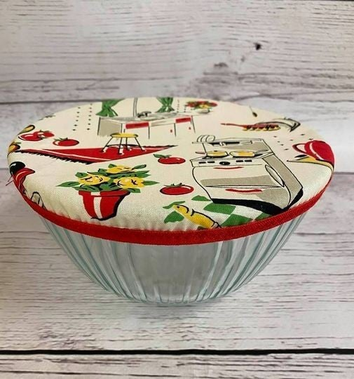 Kit: Betty Bowl Bonnet (Includes fabric, elastic, vinyl and pattern)
