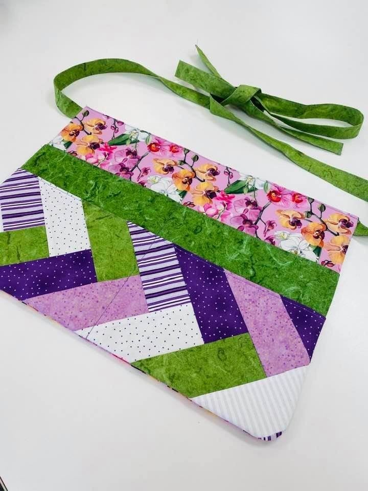 Kit:  Tie It On Apron (Inc. Pattern)