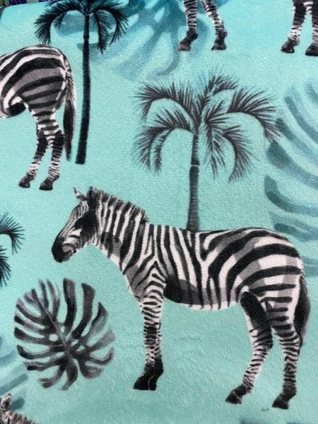 Two-Yard Cut Cuddle Zebra
