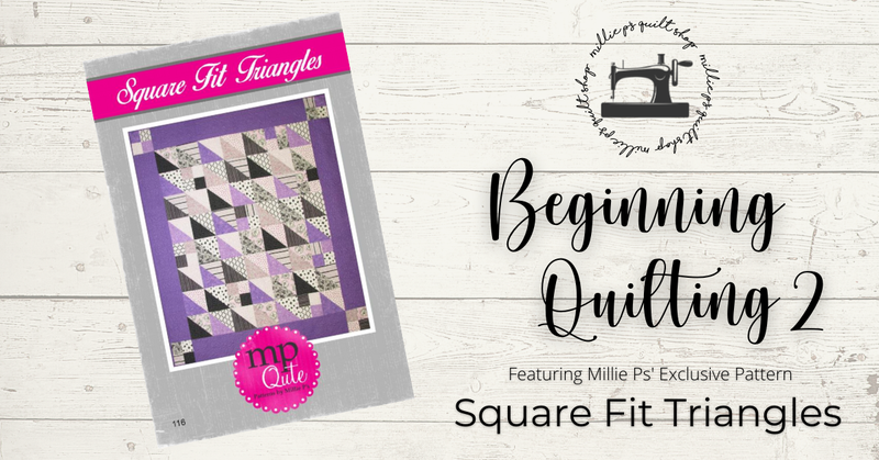 March Zoom Class: Beginning Quilting 2