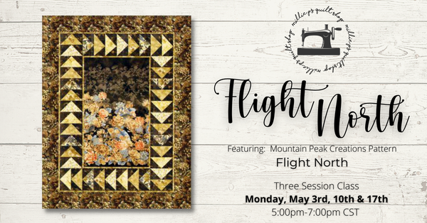 Zoom Class: Flight North May 3rd, 10th & 17th