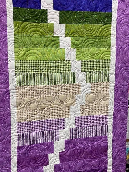 Kit:  Ripple Effect Purples/Greens NEED PATTERN