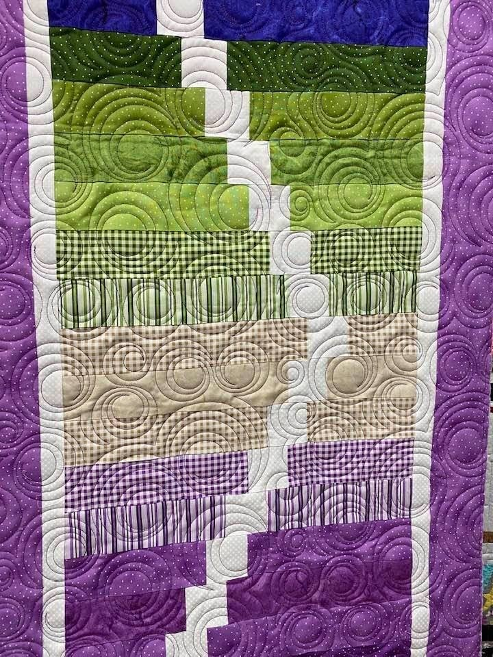 Kit:  Ripple Effect Purples/Greens NEED PATTERN