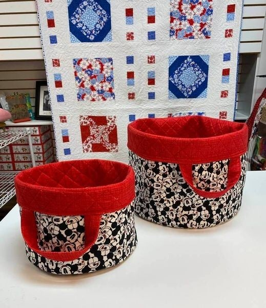 Kit:  Olivia's Basket  (Includes fabric only)