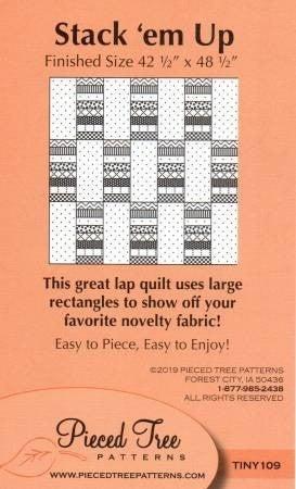 Pattern:  Stack Em Up *Final Sale*
