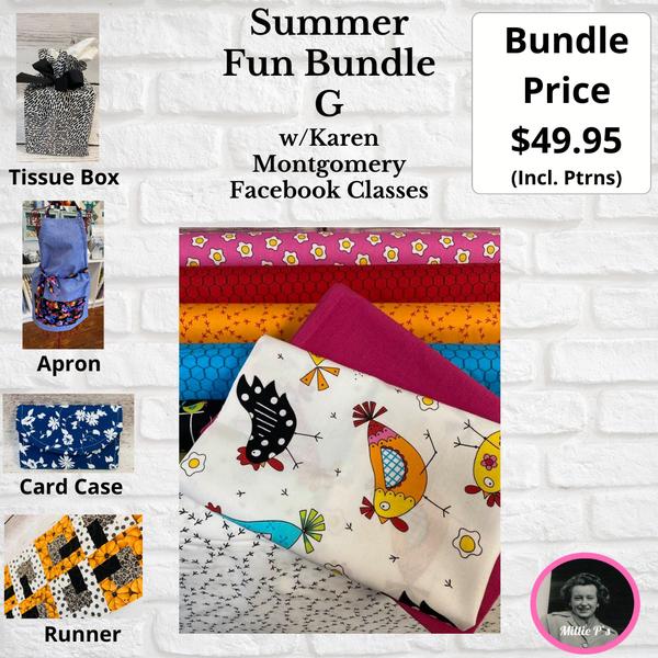 Summer Fun Bundle G w/Karen Montgomery