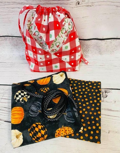 Kit:  Fold It Hold Pumpkins (makes all sizes) (NEED PATTERN) -