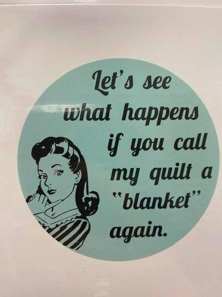 Fat Quarter Card Blanket