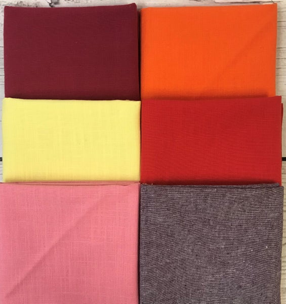 FQ Bundle (6) Textured Solids