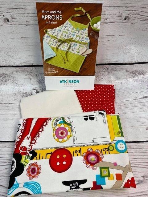Kit: Mom & Me Apron (Inc. Pattern)