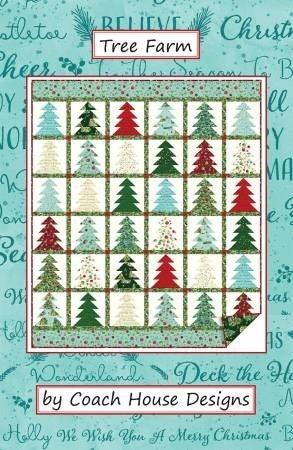 """Pattern: Tree Farm 53"""" x 63"""""""