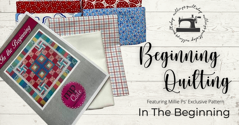 Zoom Class:  Beginning Quilting