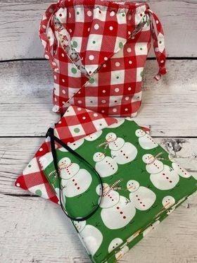 Kit:  Fold It Hold It Snowman (makes all 3) (Need Pattern)