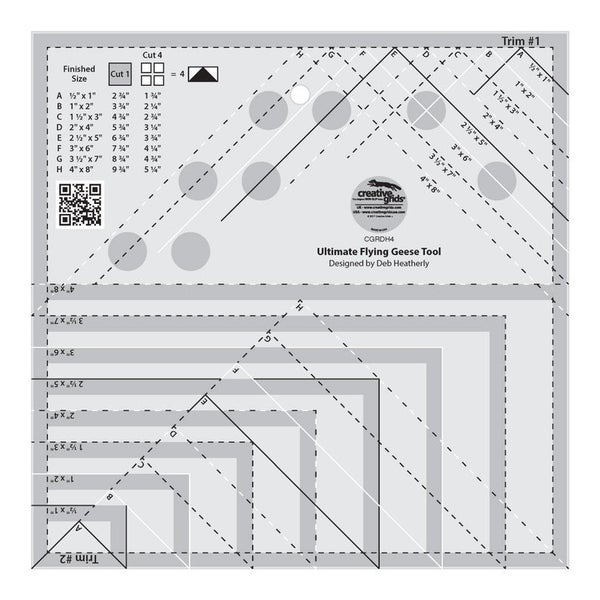 Creative Grids Ultimate Flying Geese Ruler `