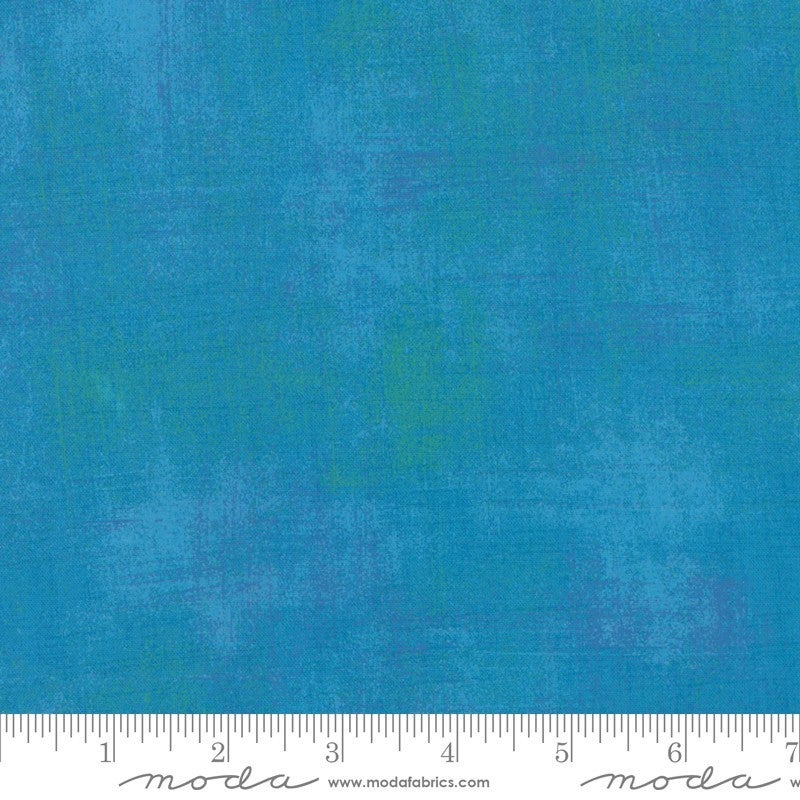 "Wide Hedges Backing - Grunge Turquoise Wideback (2 yards 30"")"
