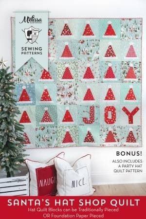 Pattern:  Santa's Hat *Final Sale*