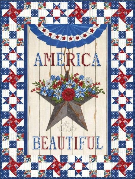 Kit:  American the Beautiful (Wall Hanging & Runner)