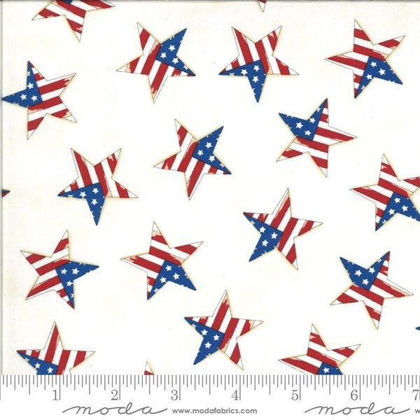 America the Beautiful Backing 3 Yard Cut