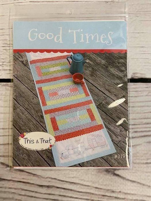 "Pattern:  Good Times Runner 16"" x 50"""