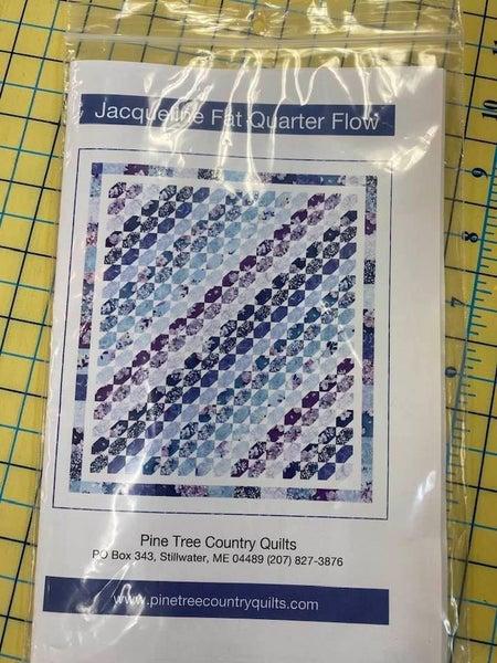 Pattern:  Jacqueline Fat Quarter Flow