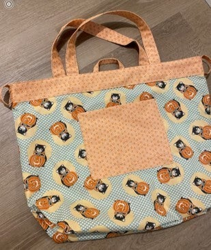 Simple Sack Kitty Corn - Cat - Pattern not included