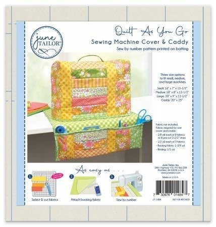 June Tailor Quilt As You Go Sewing Machine Cover