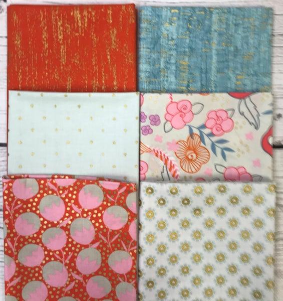FQ Bundle (6) Tropical Colors