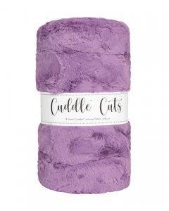 Two Yard Cut Cuddle -Violet