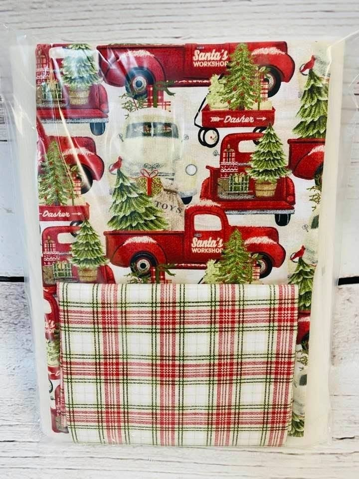 Kit:  One Hour Basket Red Truck