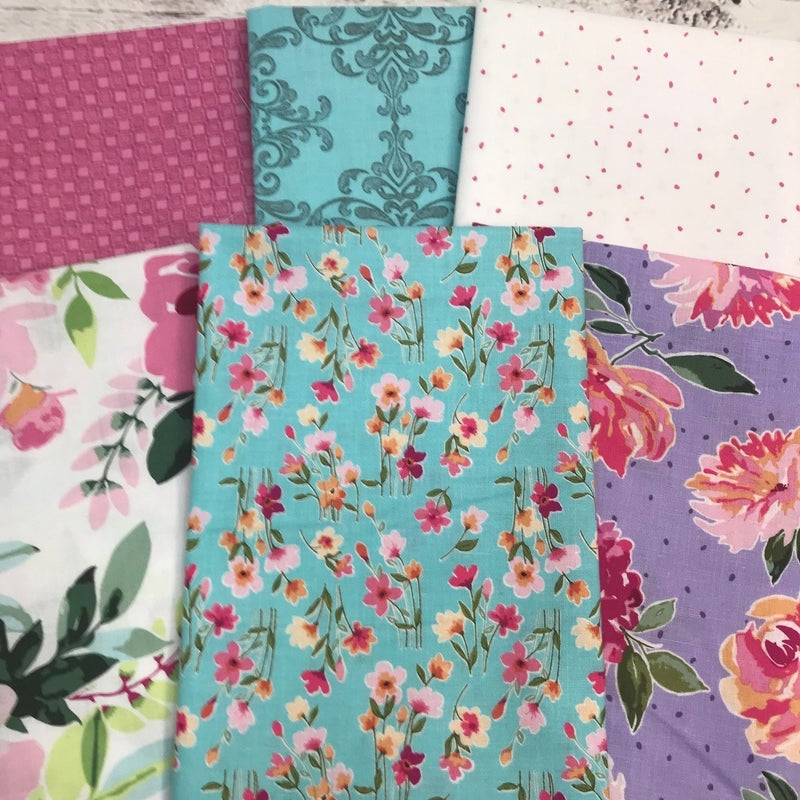 FQ Bundle (6) Pretty Blooms