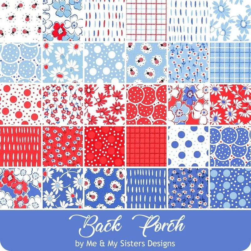 Moda Back Porch Jelly Roll