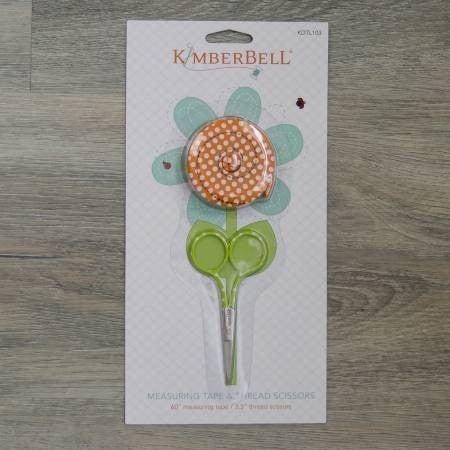 Kimberbell Measuring Tape and Thread Scissor Set