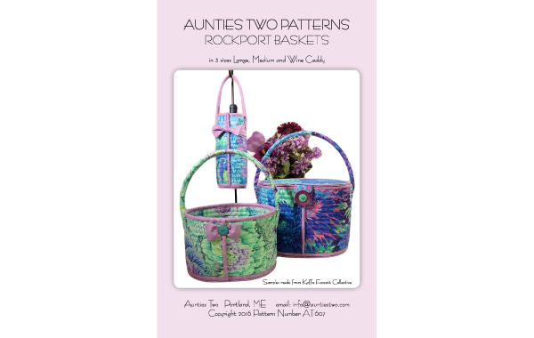 Aunties Two Patterns : Rockport Baskets
