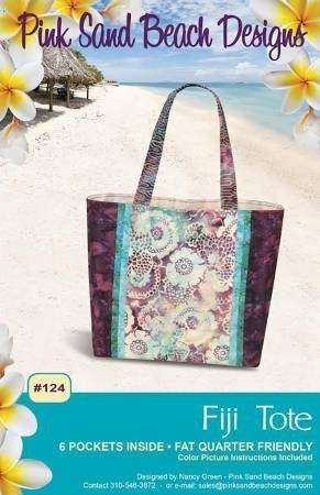 Pattern:  Fiji Tote (Fat Quarter Friendly)