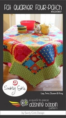 Pattern:  Fat Quarter Four Patch *Final Sale*