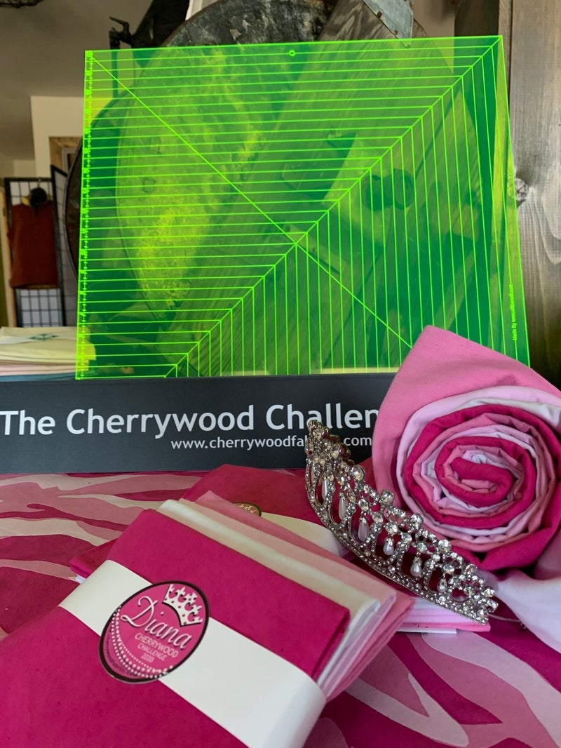 "Cherrywood Challenge Ruler 20"" x 20"""