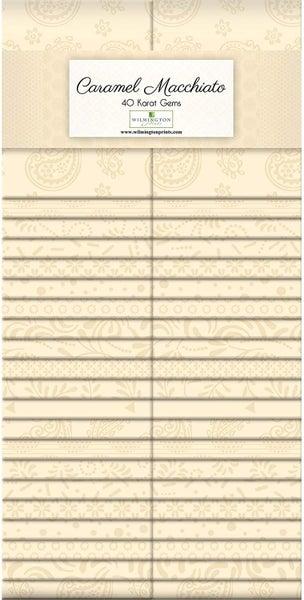 "Essential Gems (40) 2 1/2"" Strips Caramel Macchiato"